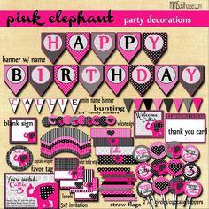 Elephant Party  http://mimisdollhouse.com/elephant-party-aubrey/