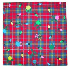 Make your holidays a little bit more festive with this Christmas bandana. It is perfect for accessorizing for a party, decorating, crafts, and so much more.