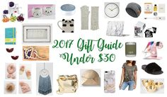 Sharing my last #giftguide of the year and all these goodies are under $30!!!! Get the deets on the blog!  #linkinprofile  Happy hump day!