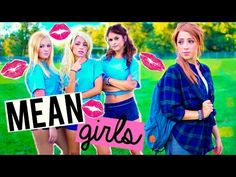 How to Deal with MEAN GIRLS in High School! Niki and Gabi - YouTube