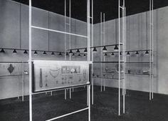 Franco Albini, Giovanni Romano | Antique Gold-work exhibition | 1936