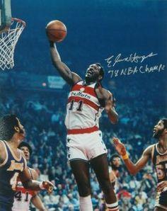 Elvin Hayes signed Washington Bullets 16X20 Photo 78 NBA Champs