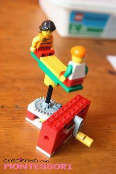 Lego Education 9689 Máquinas Simples – ENGRANAJES – Creciendo Con Montessori
