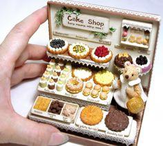 2017. Miniature Cakes♡ ♡  By Klein Klein