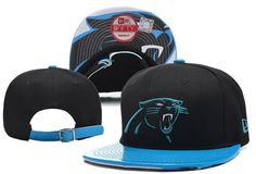 NFL Carolina Panthers New Era 9Fifty Strapback Hats Brim Smooth skin Hats|only US$8.90,please follow me to pick up couopons.