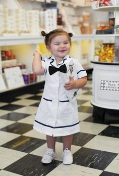 A See's Candies clerk…   A Little Girl Named Willow Is The Undisputed Costume Queen Of Halloween