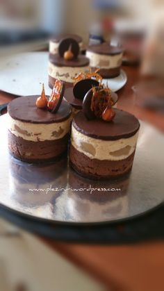Creme Caramel, Food Cakes, Something Sweet, Mini Cakes, Panna Cotta, Mousse, Cake Recipes, Cheesecake, Food And Drink