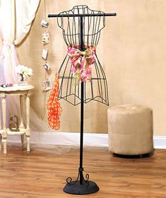 Metal Vintage Dress Form Stand Mannequin Wire Sewing Base ...