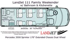 ... Sprinter Van Floorplans; RB Production Rentals Bus Conversion - Craft Company No.6, American Artisan Jewelry