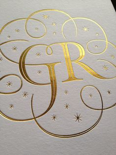 Wedding lettering by Seb Lester, via Flickr