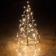 109 best led outdoor christmas lights images on pinterest 3 lighted warm white led outdoor christmas tree aloadofball Image collections