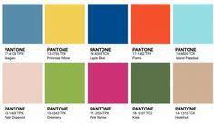 Pantone colores Verano 17-18 | Linings, Forros: Strobel