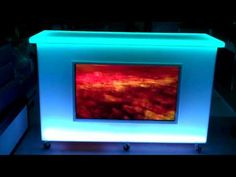 Color changing Mobile Bar with TV