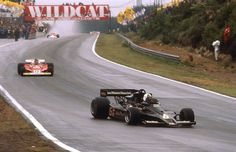 Gunnar Nilson (Lotus-Ford) vainqueur devant Carlos Reutemann (Ferrari) Grand Prix de Belgique - Zolder - 1977 - Formula 1 HIGH RES photos (Old and New) Facebook