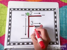 Alphabet writing sheets to help students form letters correctly
