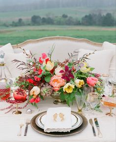 Fall Wedding Centerpiece Ideas | Jen Fariello | blog.theknot.com