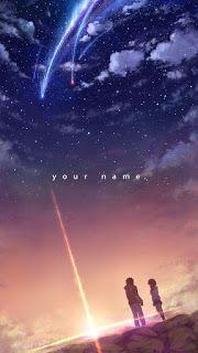 خلفيات موبايل اجمل خلفيات انمي للجوال 2021 Anime Wallpaper Iphone Kimi No Na Wa Wallpaper Your Name Anime Kimi No Na Wa