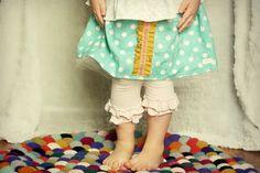 Girls Skirt Easter skirt for babies, toddlers, girls 6-12 mo-6 YR made to order aqua polka dot. $28.00, via Etsy.