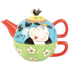 """Price & Kensington """"Tea for one"""" Daisy the Cow"""