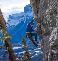 From @climbingnation | Great shot of @jsbc___ working up the arete on Aragon(5.11d) at Echo Canyon in Canmore!  //: @tosgrzegorz//  | Posted on March 03, 2017 #climbinglife #climbing_is_my_passion #climbing_pictures_of_instagram #sportclimbing