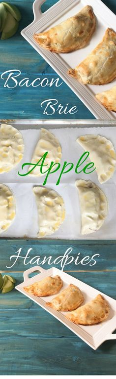 Bacon Apple Brie Handpies are a delicious snack or meal. Bake a batch and take them on the go for lunch or a day at the beach. Bacon Apple Brie Handpies are elegant enough to serve as an appetizer at a dinner party and simple enough to eat while running carpool.