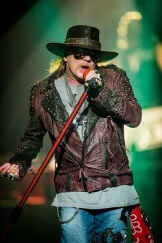 Axl Roses. Live at Hard Rock Casino, Las Vegas 2014