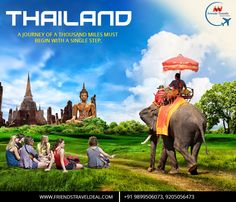 VISIT THAILAND, CALL 9899506073 #FRIENDSTRAVELS