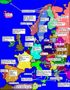 Map of Europe during World War II World War II was fought during the ...