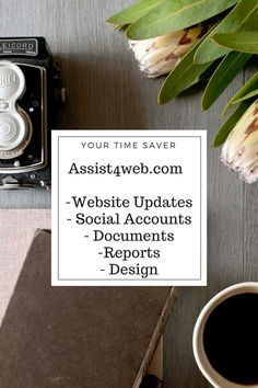 Web Design and Virtual Assisting services http://www.assist4web.com/