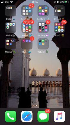 Iphone Design, Homescreen, Concept, 1, Style, Wall Papers, Desktop Organization, Gun Closet, Closets