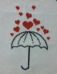 Cross Stitching, Cross Stitch Embroidery, Hand Embroidery, Cross Stitch Patterns, Crochet Square Patterns, Crochet Chart, Cross Stitch Heart, Cross Stitch Flowers, Wedding Cross Stitch