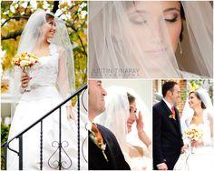 Michael and Lauren's wedding - wedding ceremony at saint bonaventura - reception at montlair art museum