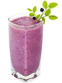 Blueberry Smoothie - Good for your thyroid