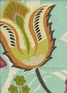 love this fabric, called jaya pool