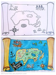 Cheers to the art of mapmaking! Over the Summer I took an e-course offered by Patty at Deep Space Sparkle . It was super informative (as ...