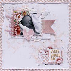 Neat and Crafty: Cherish love layout - Kaisercraft