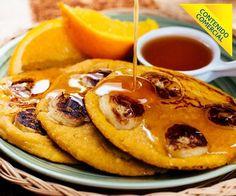 Receta: Chorreadas con banano y miel de naranja - Recetas - Estilo de Vida   Teletica