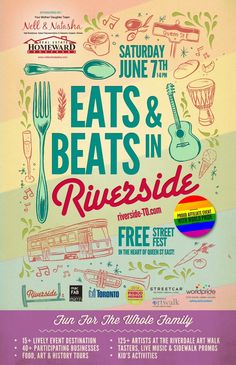 food and music festival posters - Google Search