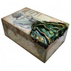 Mystery, Decorative Boxes, Lady, Vintage, Vintage Comics, Decorative Storage Boxes