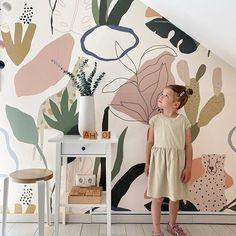Kids Room Murals, Murals For Kids, Bedroom Murals, Bedroom Wall, Room Wall Painting, Mural Wall Art, Kids Wallpaper, Wall Wallpaper, Wall Decor