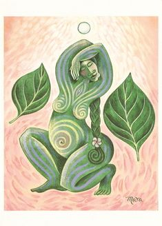 Images of Spirit, Empowering Women, Honoring the Sacred Feminine The Fullness of Life - by Mara Friedman.