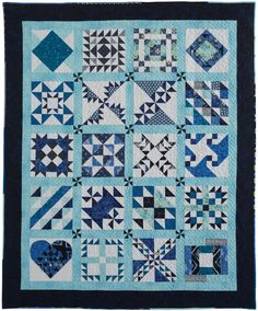 Vacation Blues by Pattie Walkowicz 850x1024 Quilt The Blues Challenge Winners Revealed!