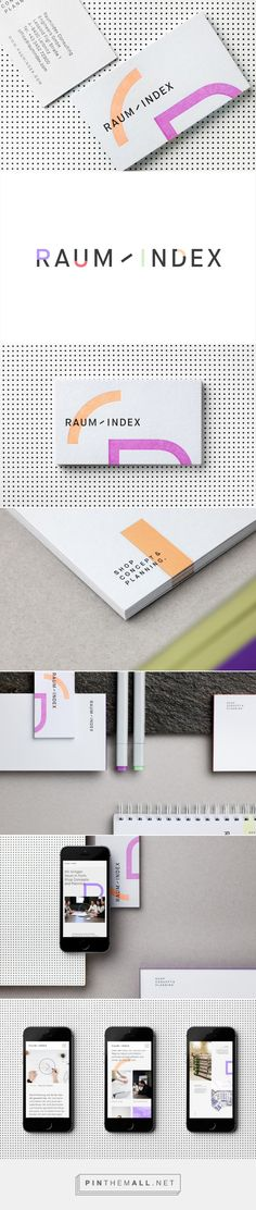 New Brand Identity for Raumindex by Moodley — BP&O Graphic Design Branding, Corporate Design, Identity Design, Brand Identity, Logo Design, Stationary Branding, Logo Branding, Logos, Branding Your Business