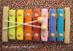 Xylophone Cookie | The Cookie Architect | Cookie Connection