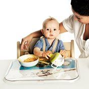 Time to eat - contain the mess with a Stokke Tripp-Trapp High chair tray. Stokke believe that your child's safety along with the product's quality and durability are of great importance and follow strict international safety standards. http://www.safebabyhighchairs.com/stokke-products.html