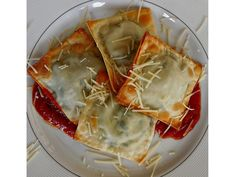 Baked Spinach and Cheese Ravioli