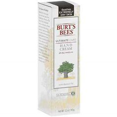 Hand and Nail Treatment Creams: Burts Bees Ultimate Care Hand Cream 3.20 Oz (Pack Of 3) BUY IT NOW ONLY: $31.62