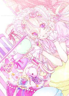 <3 Sweet Lolita Fashion Anime Girl <3