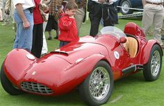 Bandini 750 Sport Siluro. Italian car with a Fiat engine. Made from 1952-1955.