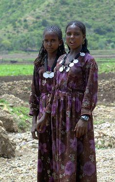 Africa: Oromo girls, Ethiopia